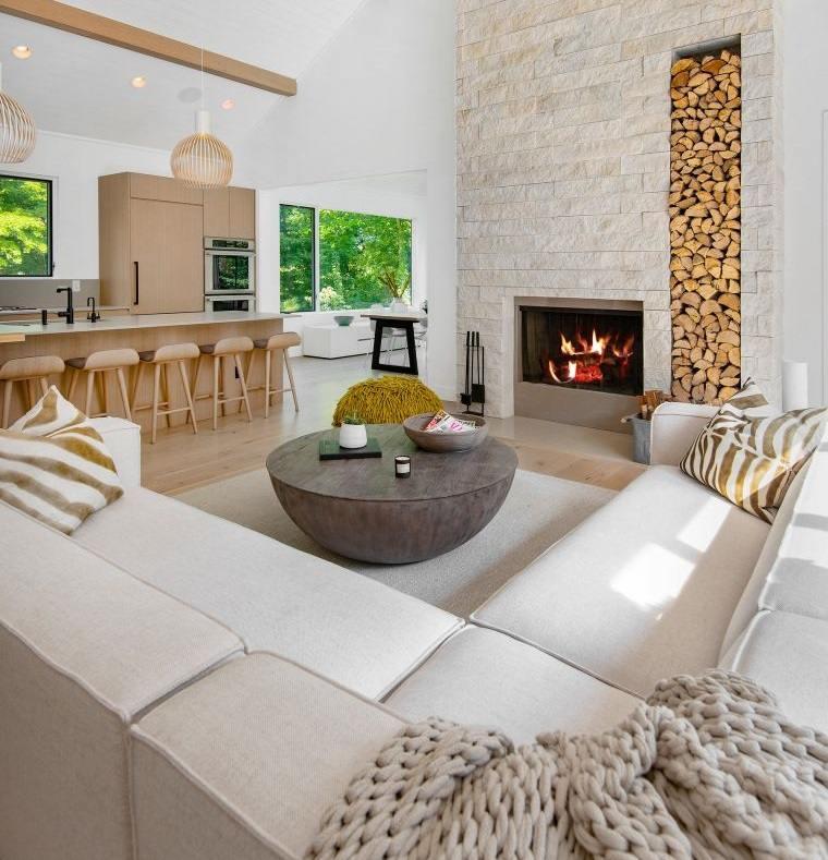 decoración natural espacio relajante
