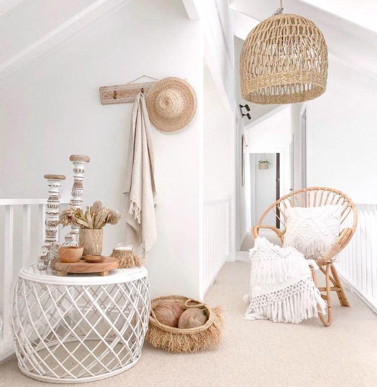 decoración natural muebles materiales calidad