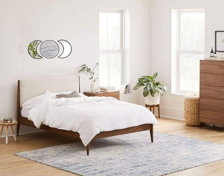 decoración natural relajante dormitorio