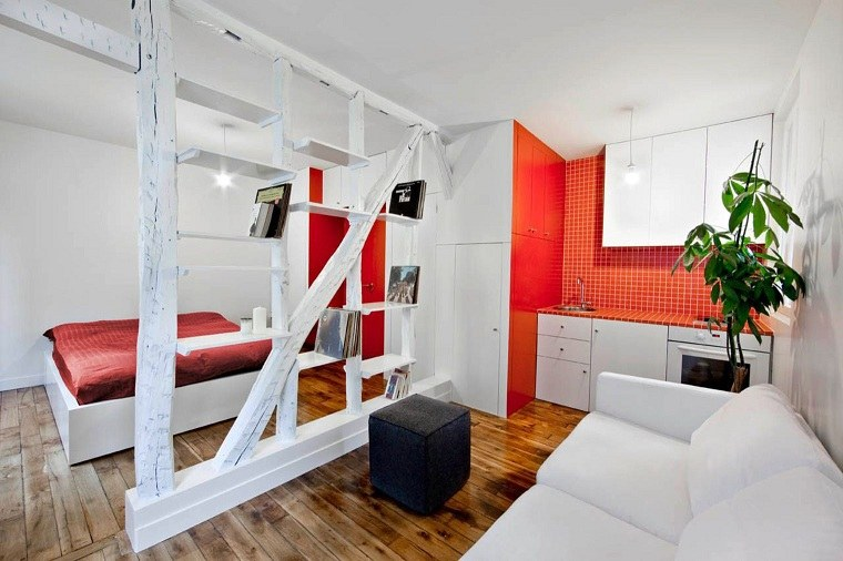 estudio de diseño-apartamentos-ideas-elementos-madera
