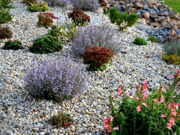 Jardín seco-contemporaneo-camino
