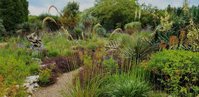 Jardín seco-contemporaneo-ideas