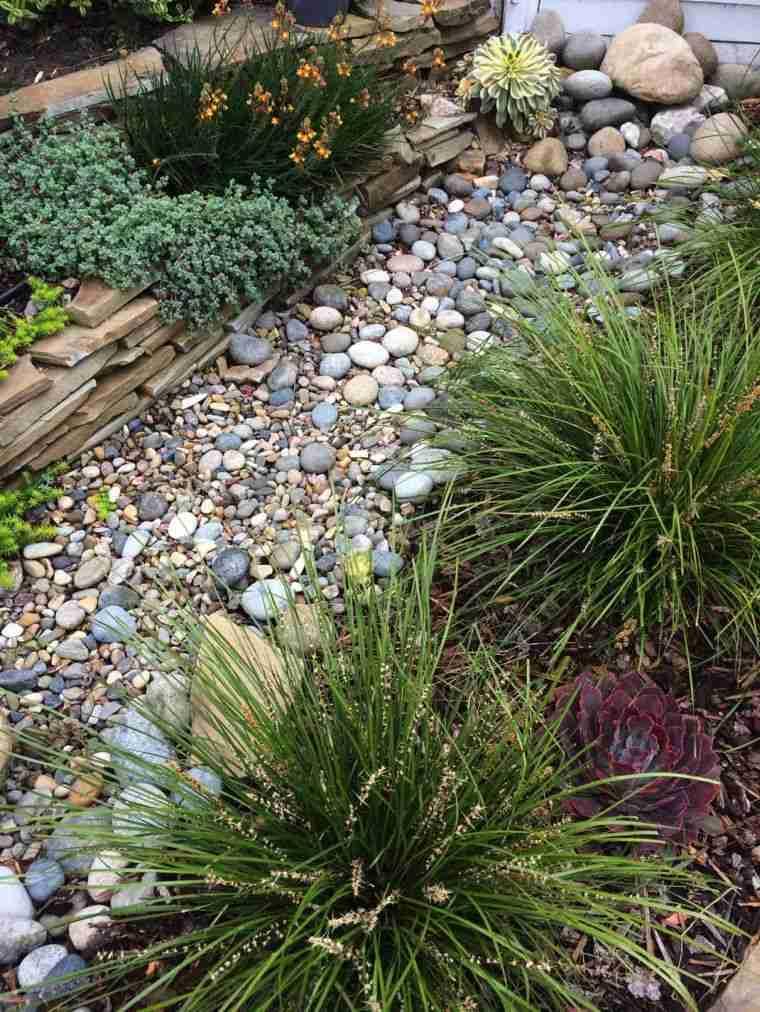 Jardín seco-contemporaneo-piedras