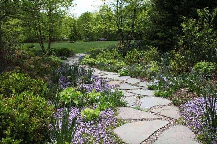 Jardín seco-piedras-grandes