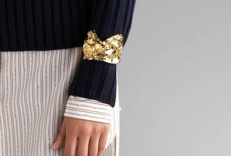 joyería brazalete femenino tendencia