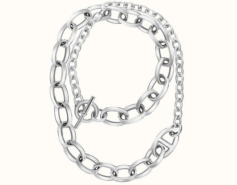 joyería collar diseño cadenas gruesas