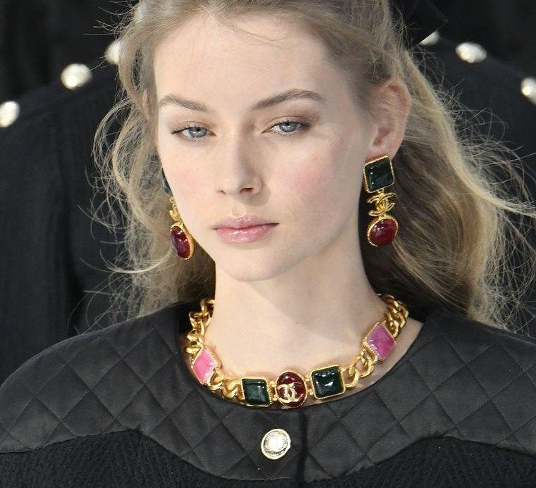 joyería femenina chanel tendencia