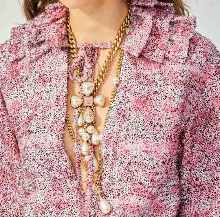 joyería tendencia femenina