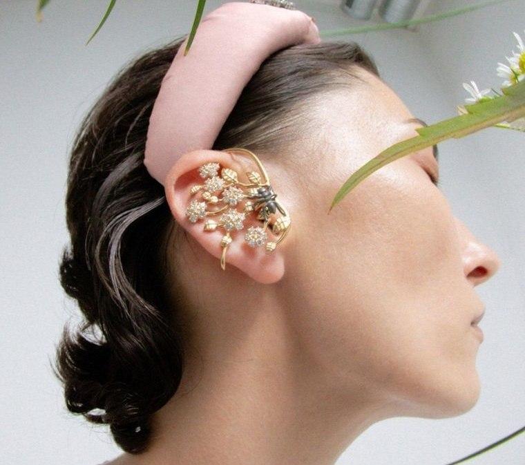 joyería tendencia puños de oreja