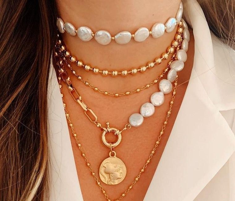 joyería uso de collares- iferentes