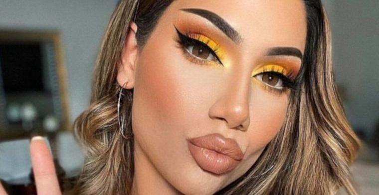 maquillaje delineado alargado