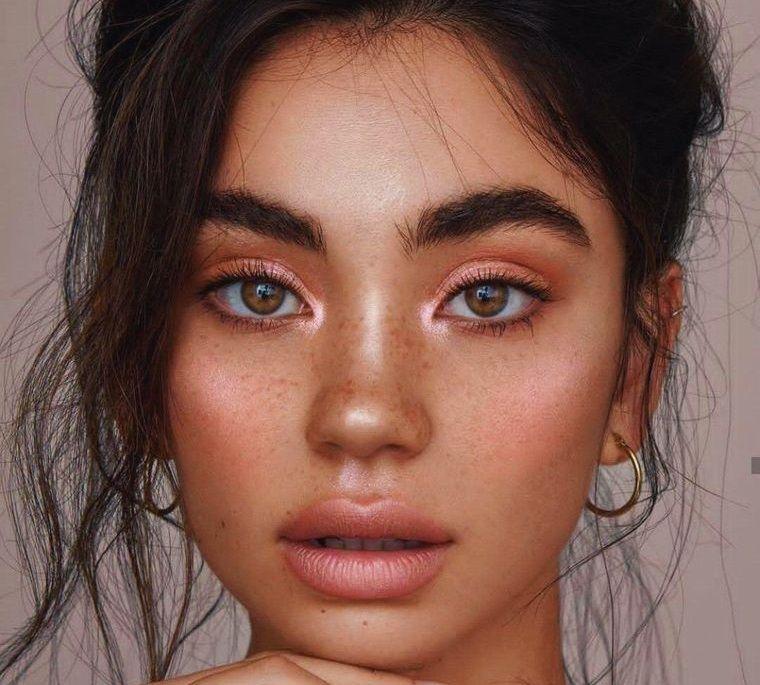 maquillaje efecto playero