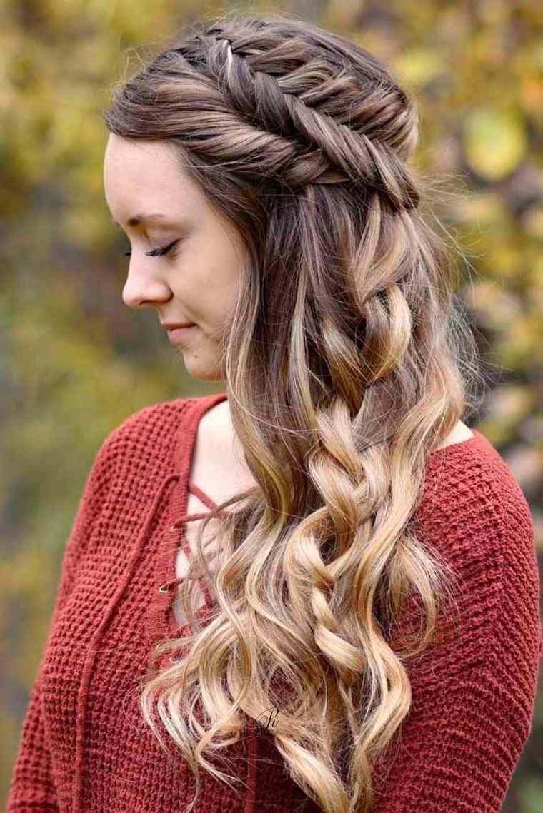 peinados para verano cabello largo