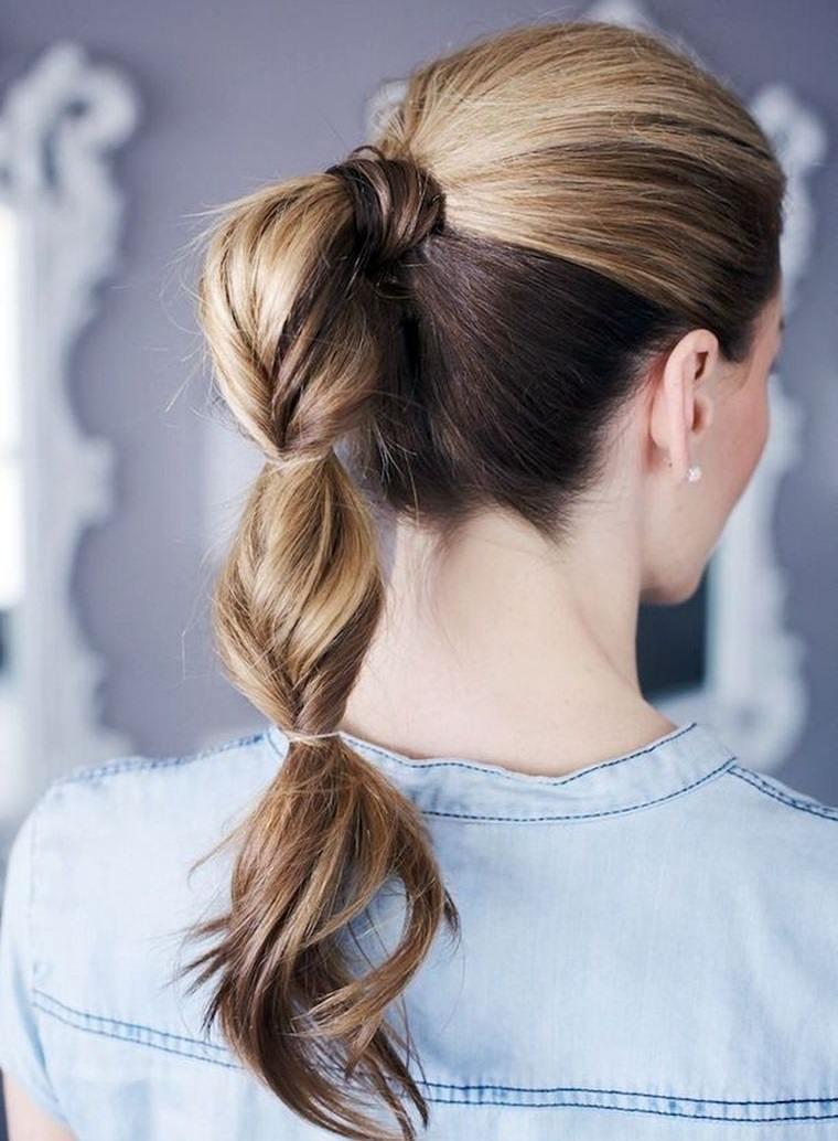 peinados para verano cola original