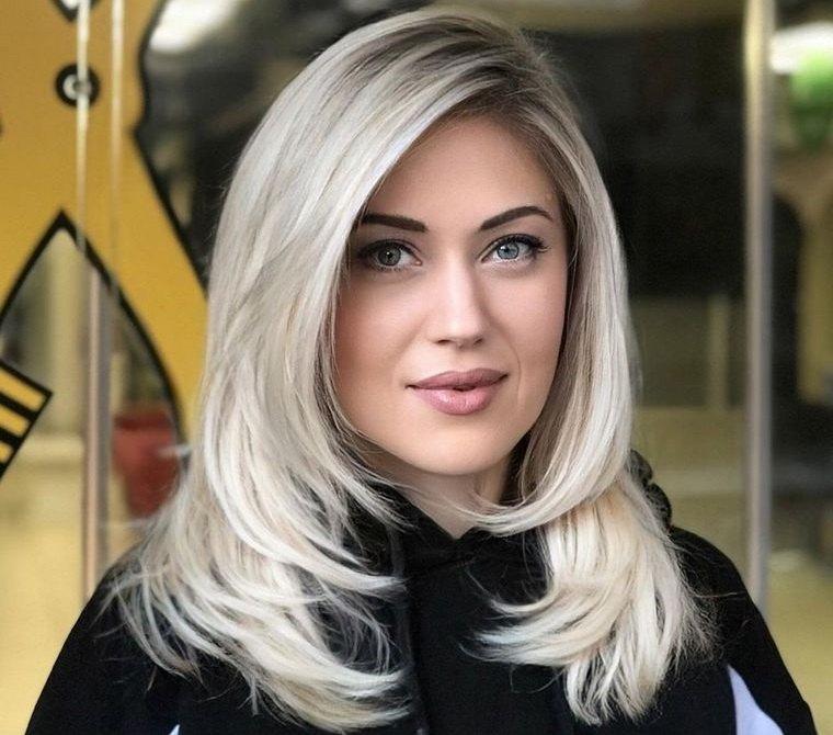 peinados para verano con capas