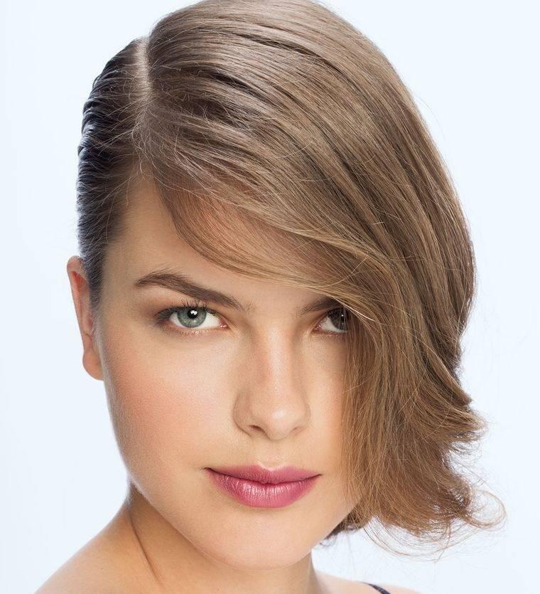 peinados para verano con linea lateral