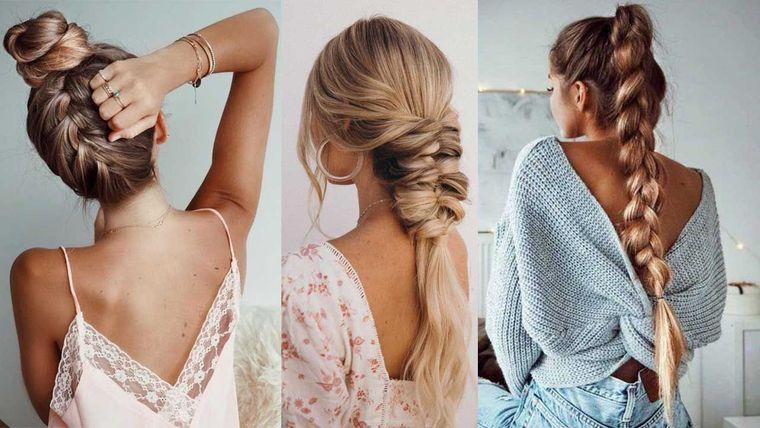 peinados para verano con trenzas
