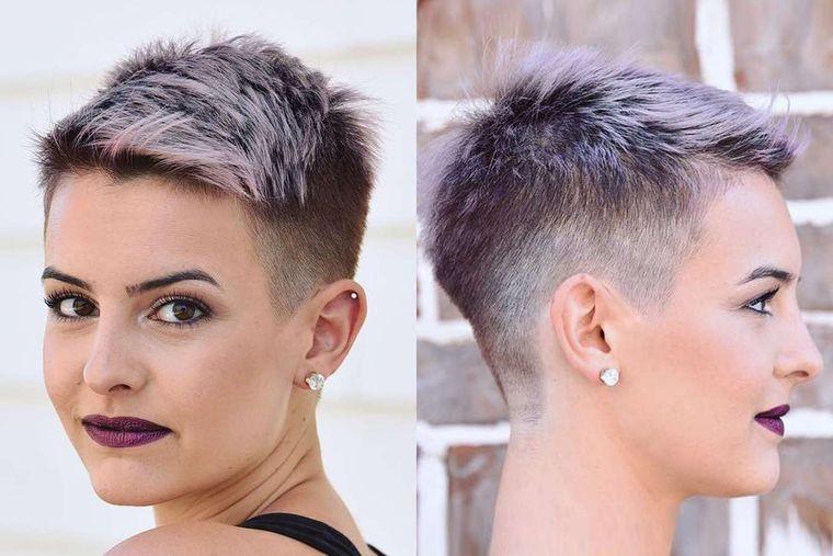 peinados para verano estilo pixie