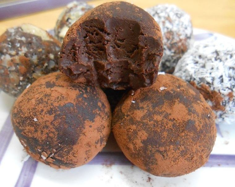 snickers trufas veganas chocolate