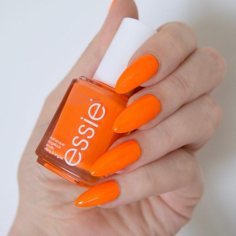 unas-para-verano-2021-naranja