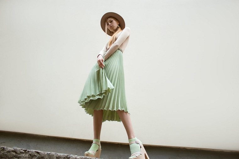 verde menta-ideas-falda