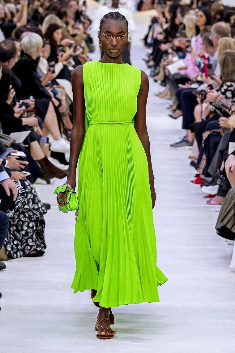 Vestidos primavera verano 2021-neon
