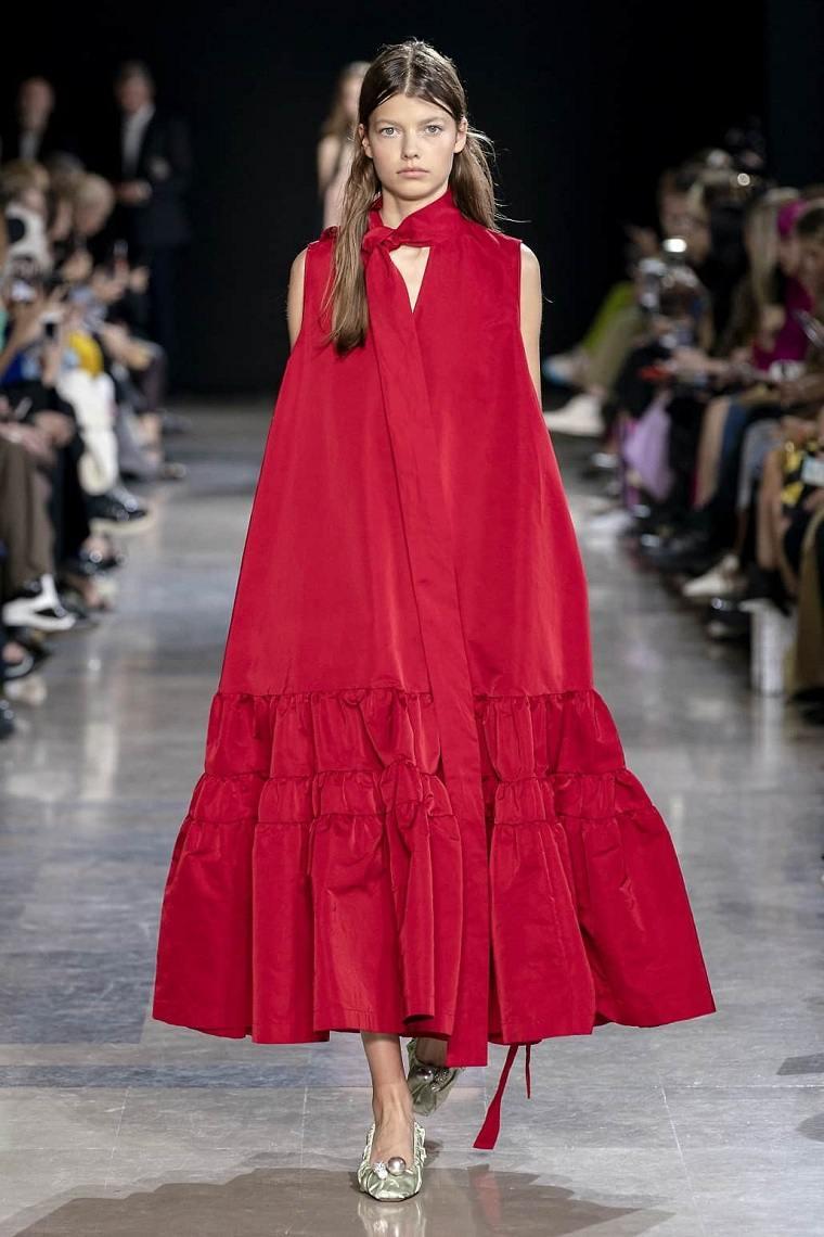 Vestidos primavera verano 2021-rojo