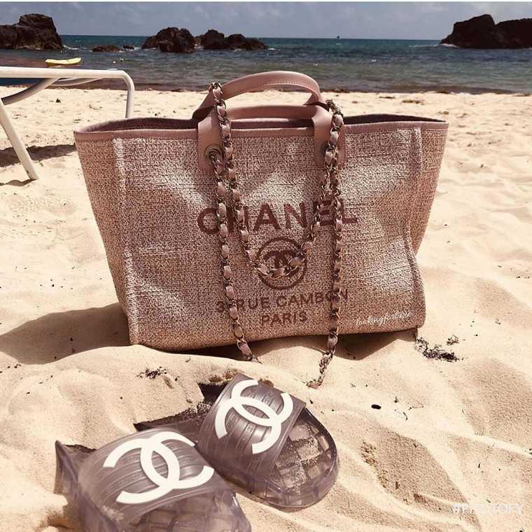 Bolsos de playa 2021-Chanel