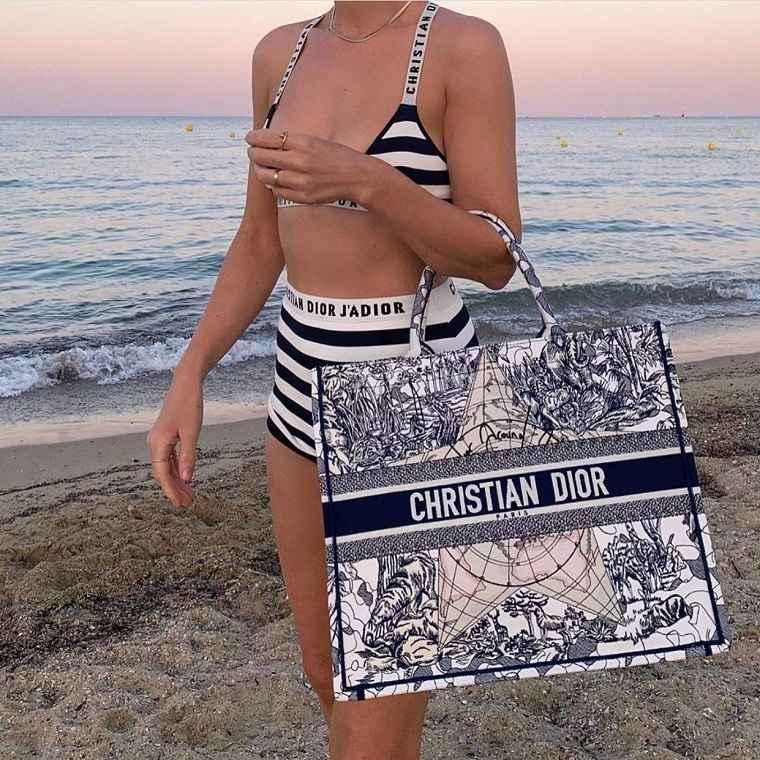 Bolsos de playa-2021-dior