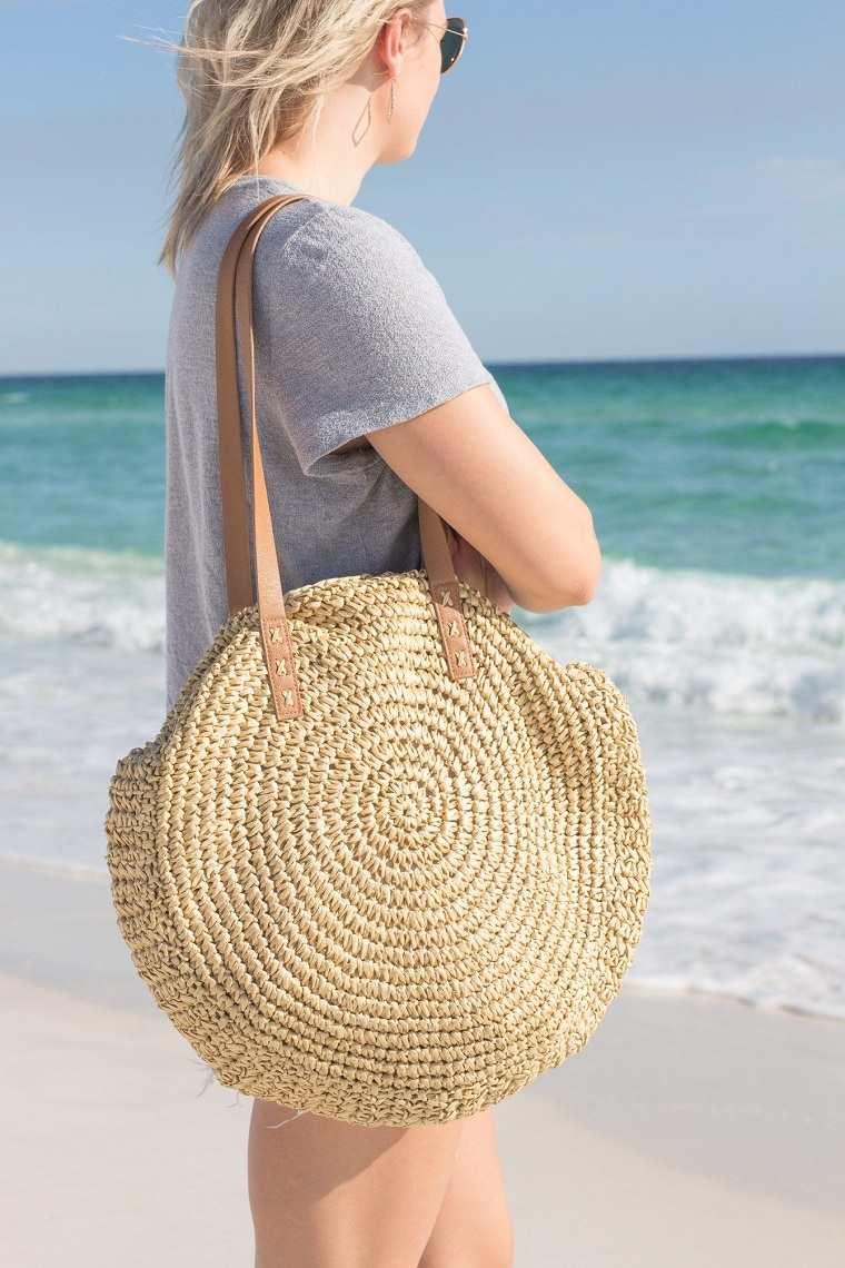 Bolsos de playa 2021-forma-circulo
