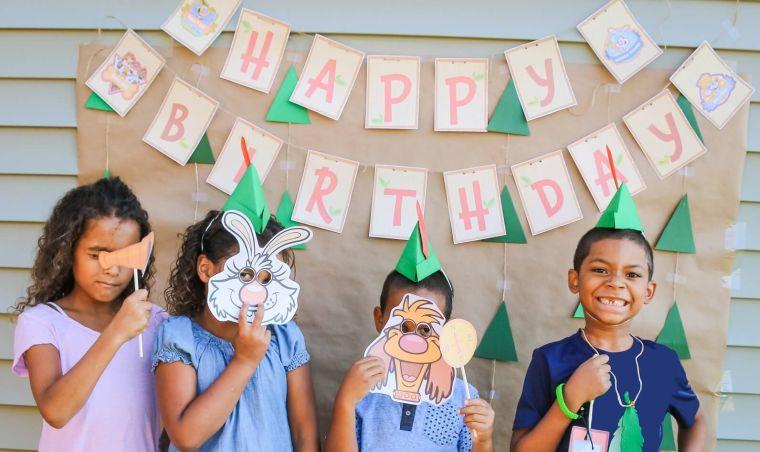 Ideas-cumpleanos-infantiles-tema-mascaras