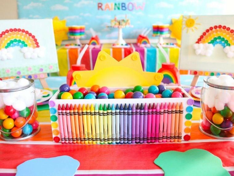 Ideas para cumpleaños infantiles en verano -colores