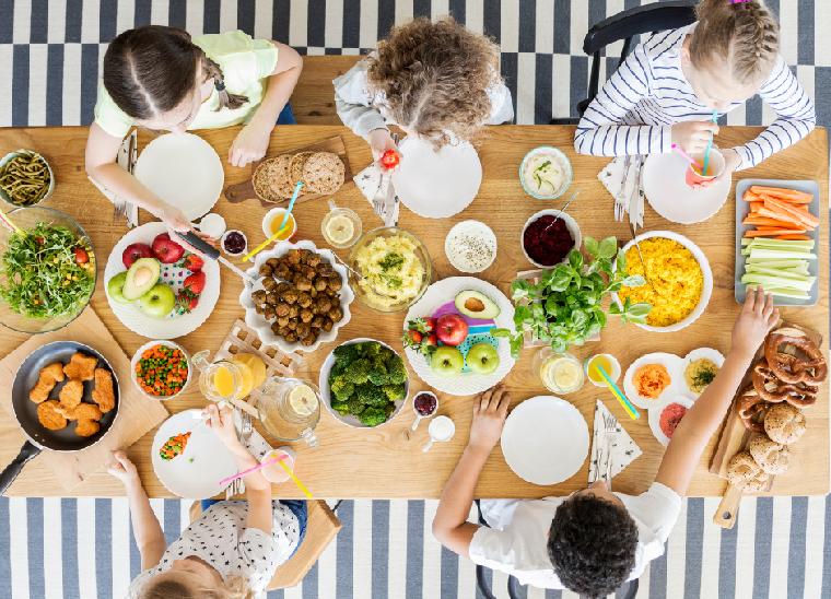 Ideas para cumpleaños infantiles en verano -comida