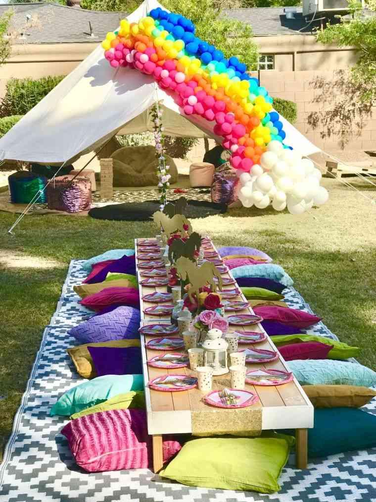 Ideas para cumpleaños infantiles en verano ideas-jardin