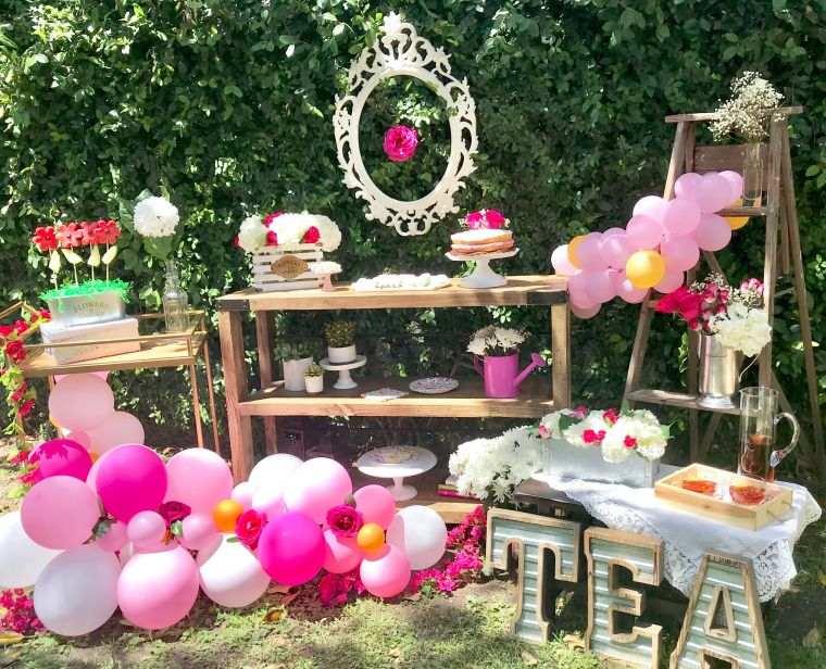 Ideas para cumpleaños infantiles en verano -jardin-ideas