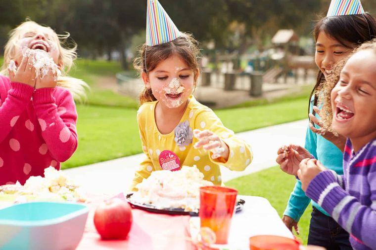Ideas para cumpleaños infantiles en verano -jardin
