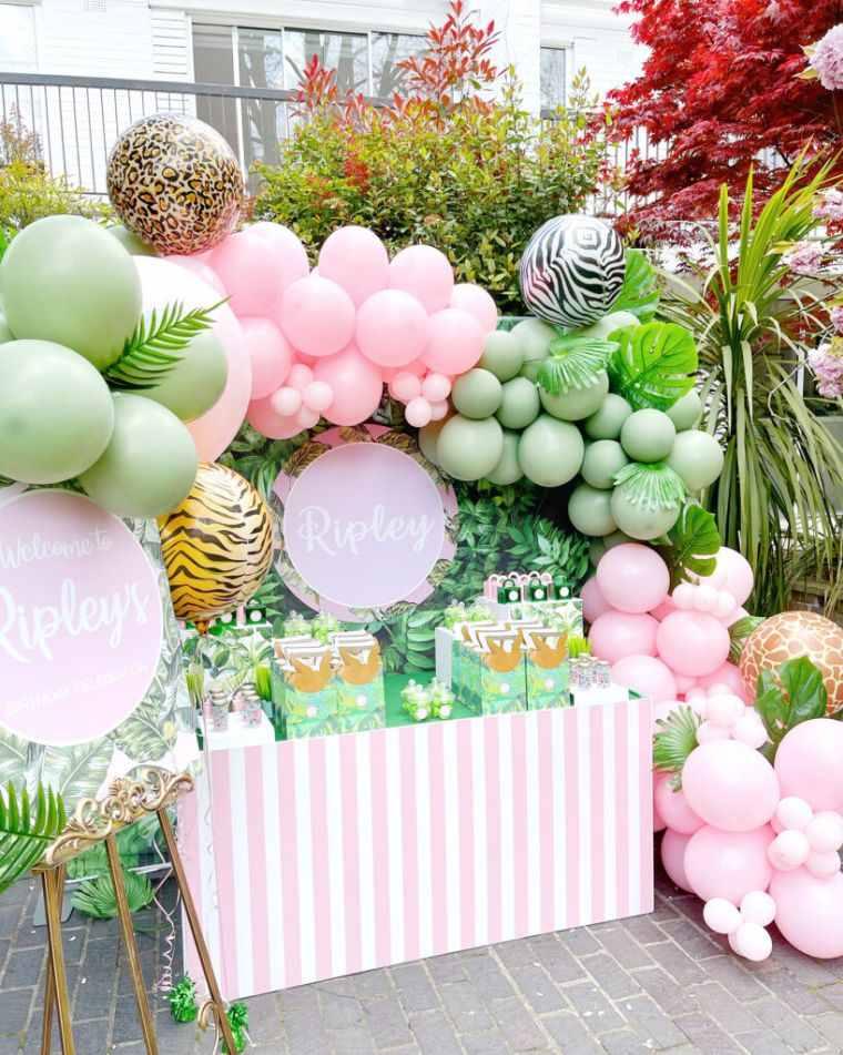 Ideas-para-cumpleanos-infantiles-en-verano-mesa-dulces