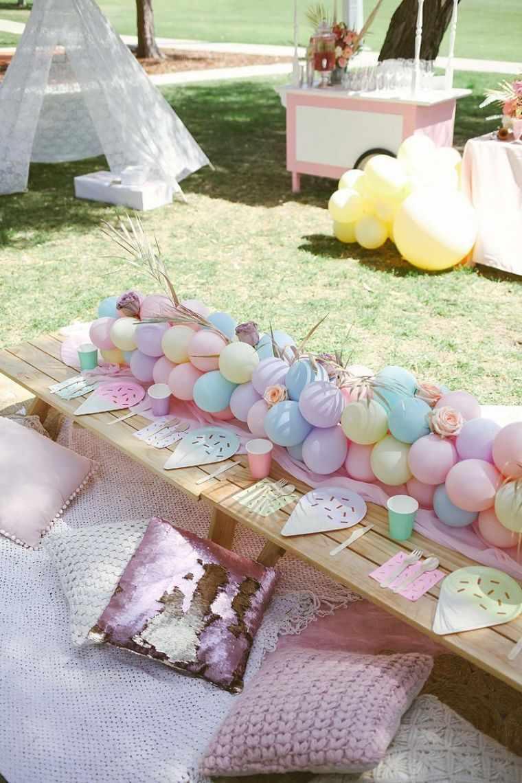 Ideas-para-cumpleanos-infantiles-en-verano-mesa
