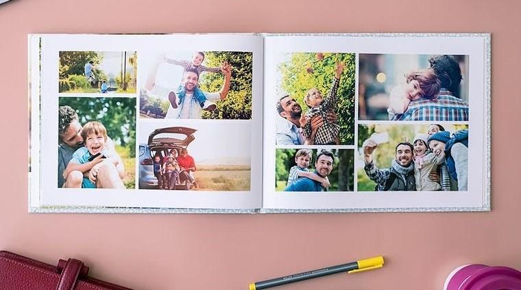 álbum de fotos digital personalizado