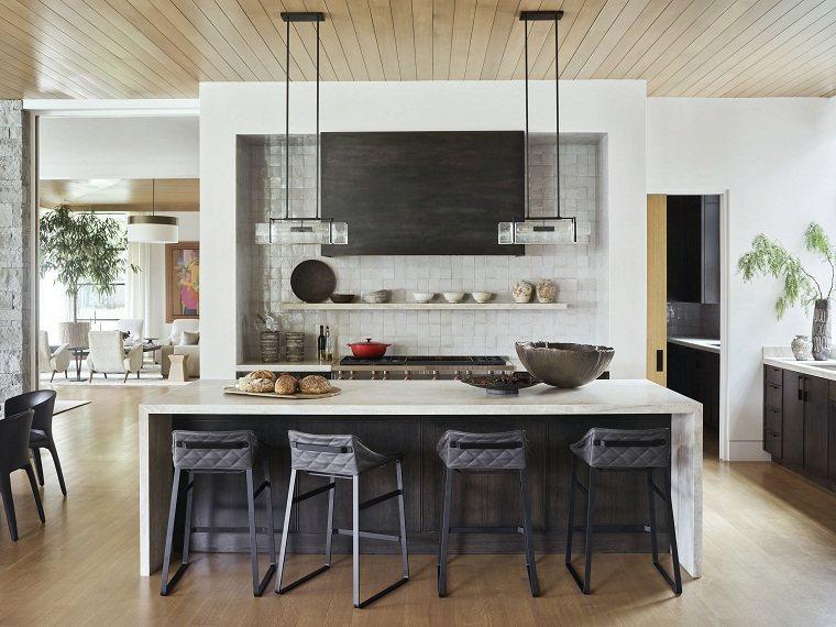 cocina-blanco-negro-ideas
