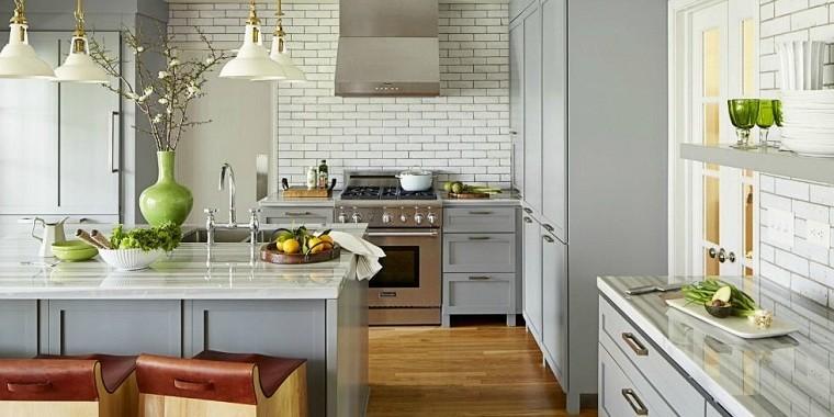 cocina-gris-ideas