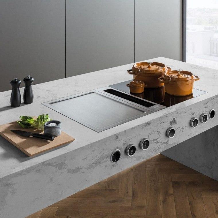 cocinas 2021-encimera-blanca