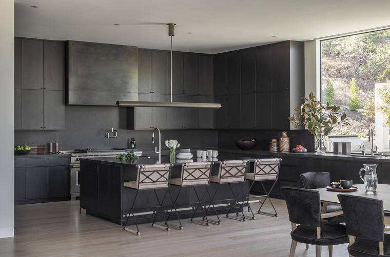 cocinas 2021-tendencias-color-negro