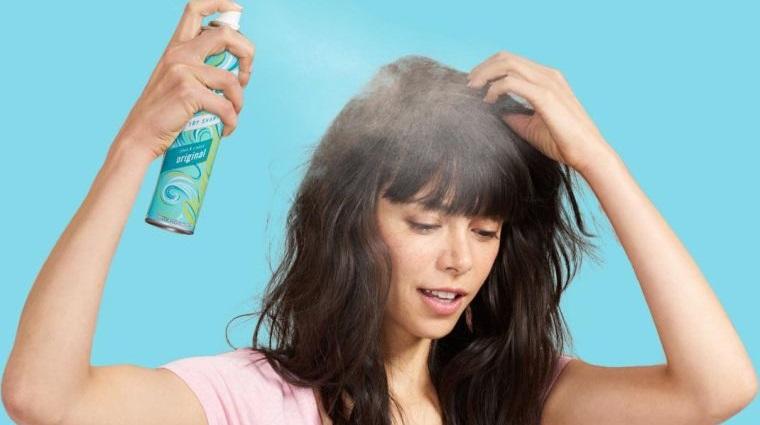 cuidado del cabello champu seco