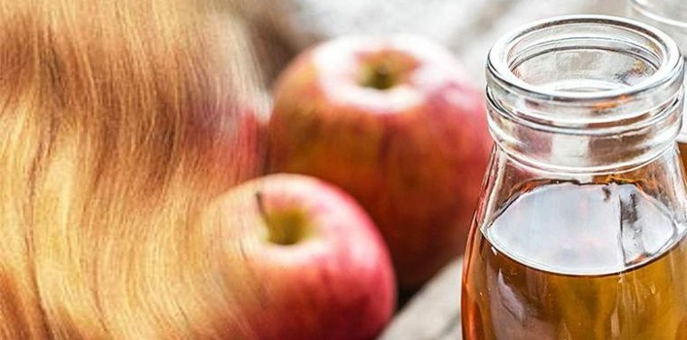 cuidado del cabello vinagre de manzana