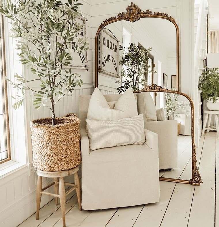 decoración con espejos en ricon