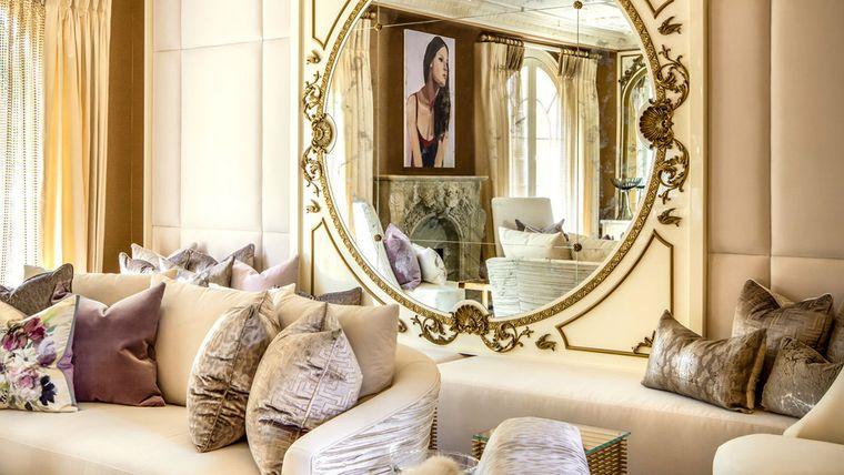 decoración con espejos sofisticados