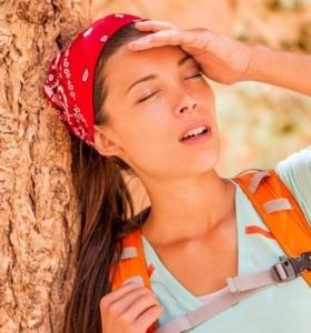 golpe de calor sintomas