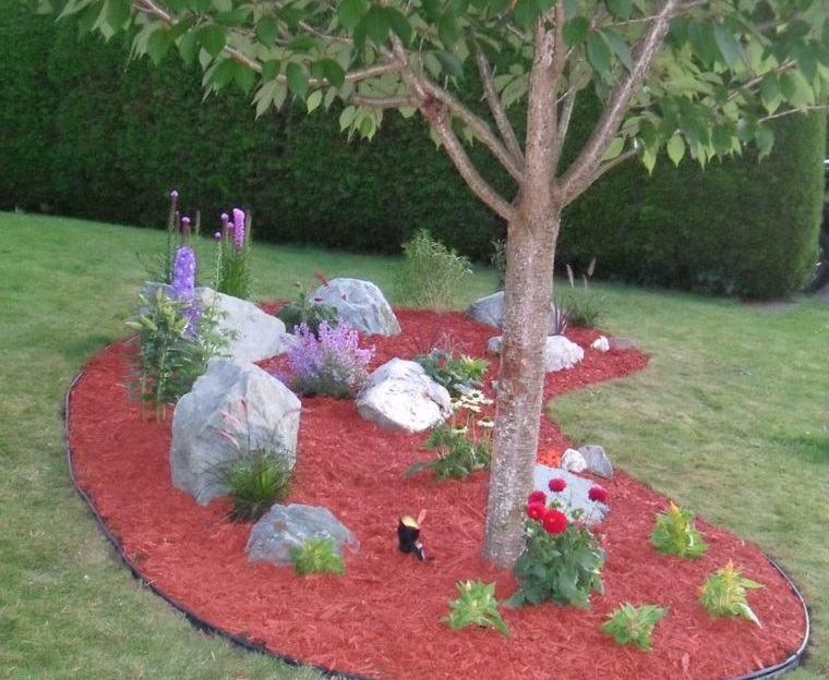 jardín de rocalla diseño original