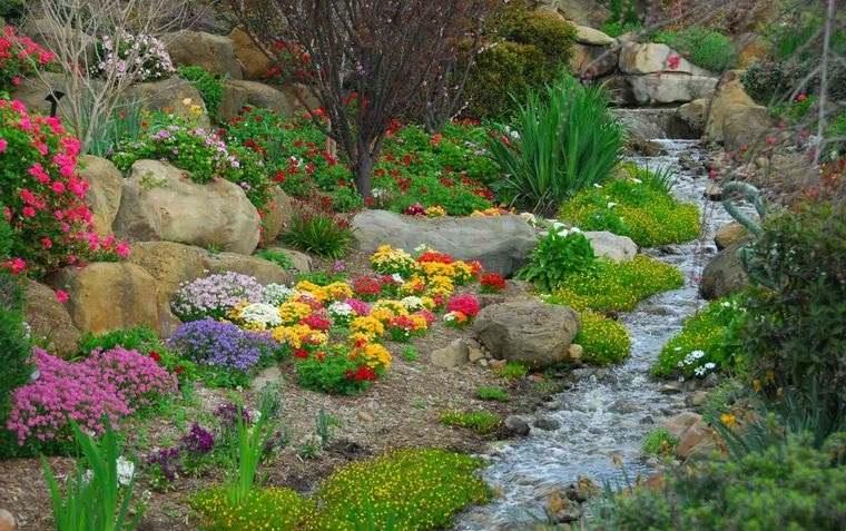 jardín de rocalla diseño